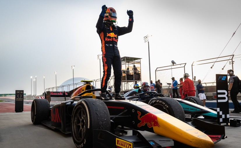 Jehan Daruvala will continue racing for Carlin Motorsport in Formula 2 in the 2021 campaign
