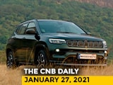 Video : 2021 Jeep Compass Prices | Tata Safari Unveiled | KTM Adventure Trail