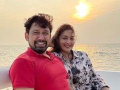 "A Scene From Madhuri Dixit And Sriram Nene's ""Perfect Start To 2021"""