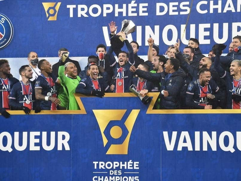 Returning Neymar Helps PSG To Champions Trophy Triumph Over Marseille