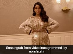 Dazzling In An Ivory Gown, Nora Fatehi Glams Up And How