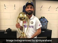 Ajinkya Rahane Celebrates Indian Team Victory With Two Delicious Cakes (See Pics)