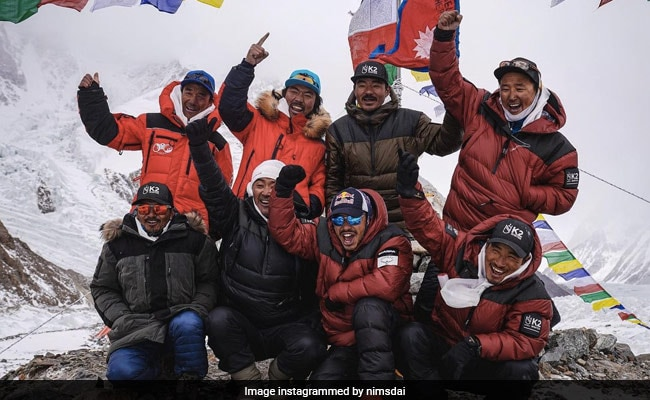 Nepali Climbers 1st To Scale K2, World's 2nd Highest Mountain, In Winter