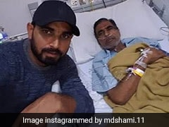 "Mohammed Shami Pens Emotional Tribute To Father, Says ""Proud To Be Your Son"""