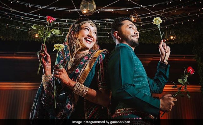 How Gauahar Khan And Zaid Darbar Celebrated One-Month Wedding Anniversary
