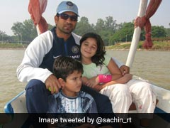 "Sachin Tendulkar Throwback Pic On National Girl Child Day, Says ""Celebrate Our Girls And Boys Alike"""