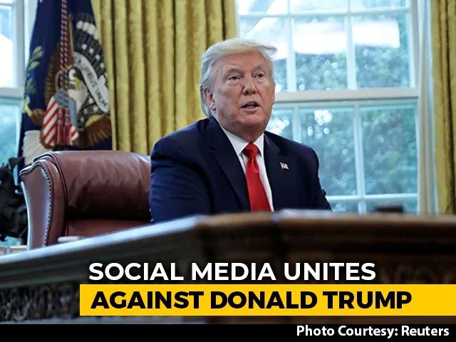 Video : Twitter, Facebook, Instagram Block Trump's Accounts After Violence On Capitol Hill
