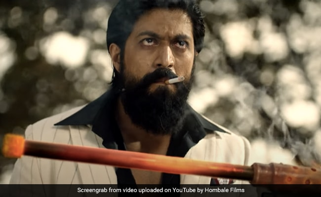 KGF: Chapter 2 Teaser - Yash And Sanjay Dutt Are Locked In Power Play