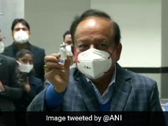 """Vaccines Our <i>Sanjivani</i> In Fight Against Pandemic"": Union Health Minister"