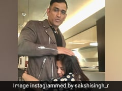 MS Dhoni's Wife Sakshi Reflects On Their Journey In Adorable Throwback Post. See Pics