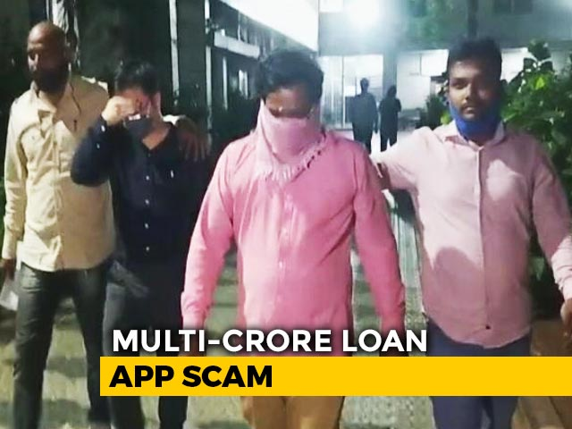 Video : Chinese Man, Head Of Rs. 21,000-Crore Loan App Scam, Arrested In Delhi