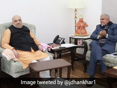 बंगाल के राज्यपाल ने अमित शाह से मुलाकात के बाद चुनावी हिंसा पर बात की