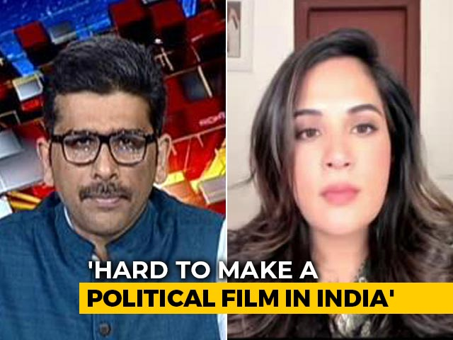 Is Richa Chadha's New Movie Based On Mayawati? Actor Clarifies