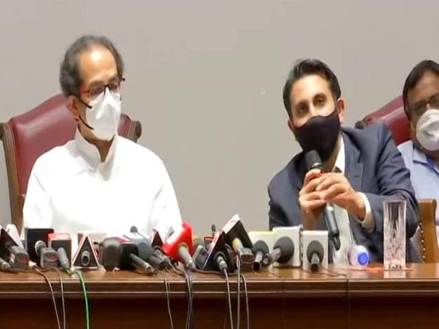 "Video : ""Vaccine Safe"": Adar Poonawalla, Uddhav Thackeray On Serum Institute Fire"
