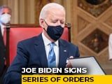 Video : Biden Signs Executive Orders To Reverse Trumps Policies Hours After Oath