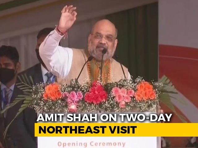 """Video : """"Only BJP Can...."""": Amit Shah Says Bodoland Win A Trailer For Assam Polls"""
