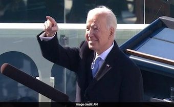 'My Whole Soul Is In Uniting America,' Says Biden After Taking Oath