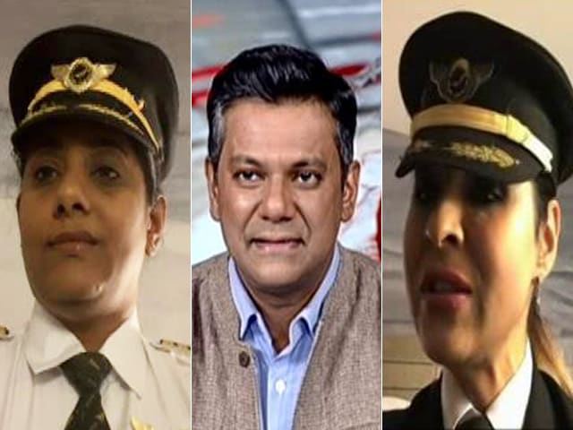 Video : Air India Women Pilots To Operate Longest-Ever Flight Into India