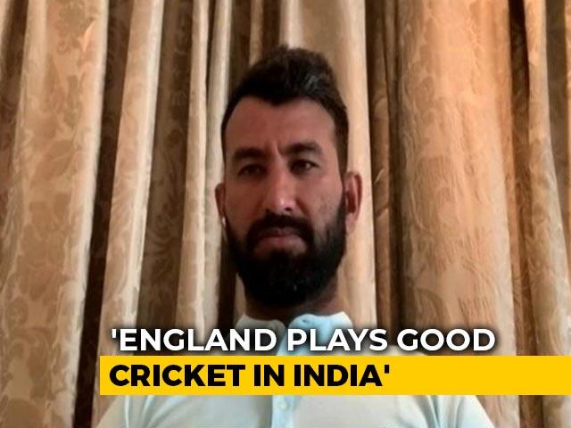 Video : 'England Play Good Cricket In India': Cheteshwar Pujara