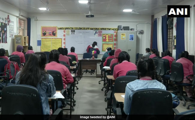 Smiles, Flowers, Sanitisers Welcome Students As Schools Reopen In Delhi
