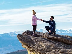 Woman Falls Down 650-Foot Cliff Moments After Proposal