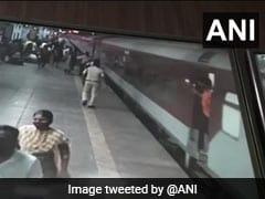 Maharashtra Railway Cops Save Life Of Man Trying To Board Moving Train