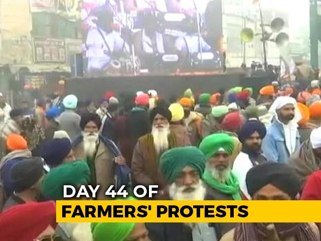 Video : Farmer Protest: Eighth Round Of Talks With Government Today