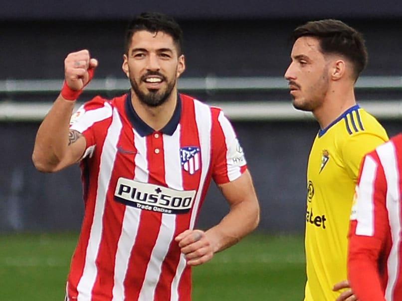 La Liga: Luis Suarez Double At Cadiz Sends Atletico Madrid 10 Points Clear