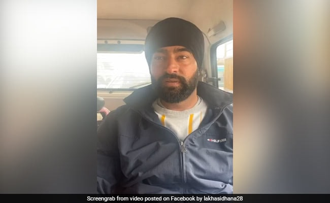 Not Involved In January 26 Violence: Gangster-Turned-Activist Lakha Sidhana