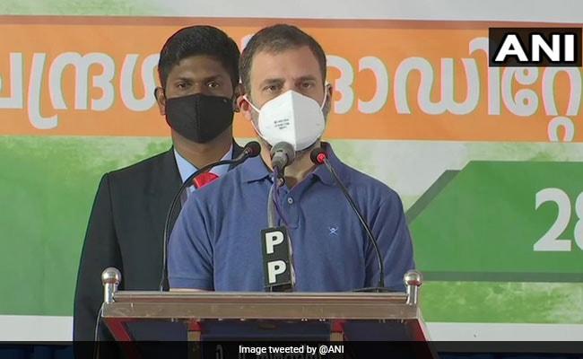 PM Modi 'Trying To Kill' Land Acquisition Bill, Says Rahul Gandhi