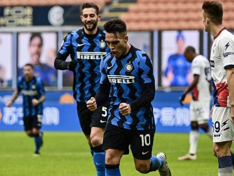 Lautaro Martinez Hat-Trick Sends Six-Goal Inter Milan Top Of Serie A