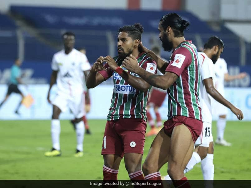 ISL: ATK Mohun Bagan Beat NorthEast United 2-0 To Reclaim Top Spot