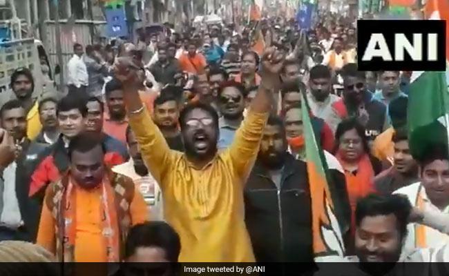 Day After Surfacing In Trinamool Rally, 'Goli Maaro' Slogan Back With BJP