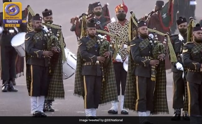 2021 Republic Day Parade Ended At Venue Where It Was First Held