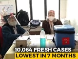 Video : India Daily Covid Cases Drop To 10,064; Deaths Lowest In Nearly 8 Months