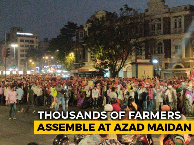 Video : Farmers From Maharashtra's 21 Districts Reach Mumbai To Protest Farm Laws
