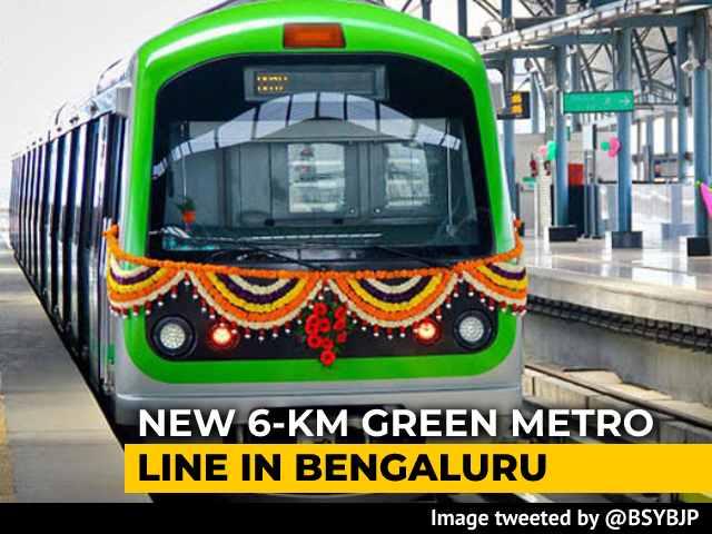 Video : New 6-Km Metro Line Inaugurated In Bengaluru, Public Access From Tomorrow