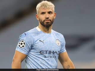 Manchester City Striker Sergio Aguero Tests Positive For Coronavirus