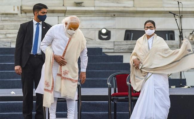 Trinamool's 'Dignity' Jibe After 'Jai Shree Ram' Chants At Netaji Event