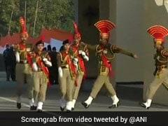 Beating Retreat Ceremony At Attari Border Draws Overwhelming Cheer Despite Thin Crowd