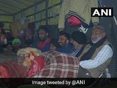 Farmers Protest Live Updates: Farmers Continue Protest At Delhi Borders Amid Rain, Cold