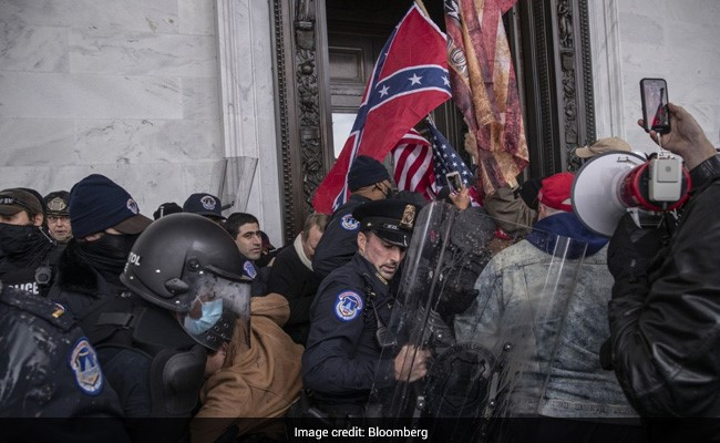 Pro-Trump Protesters Flooded Capitol, Entered Senate In 4-Hour Siege