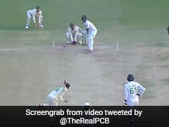 Pak Vs SA: केशव महाराज ने पाकिस्तानी बल्लेबाज को मारा बोल्ड, पीछे से अंपायर ने दे दी No Ball - देखें Video