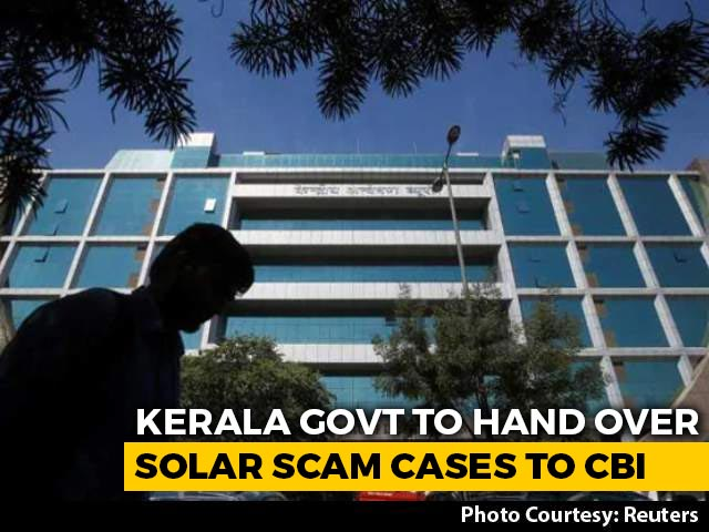 Video : Months Before Polls, Kerala Says Will Transfer Solar Scam Cases To CBI