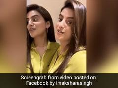 अक्षरा सिंह ने 'मेरे सामने वाली खिड़की' गाने पर दिए जबरदस्त एक्सप्रेशन, देखें Video