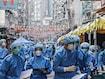 Hong Kong Locks Down 10,000 For Mandatory Covid Testing