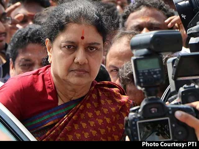 Video : VK Sasikala, Ex-AIADMK Leader, Released After 4 Years In Jail
