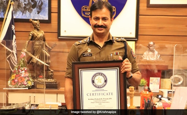 IPS Officer Krishna Prakash Makes It To World Book Of Records For This Achievement