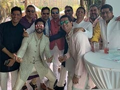 On His Wedding Day, A Pic Of Varun Chilling With His Squad