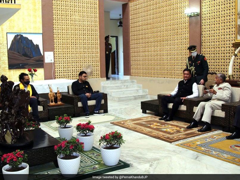 BCCI Secretary Jay Shah And Sports Minister Kiren Rijiju Meet Arunachal Pradesh CM Pema Khandu; Discuss Promotion Of Cricket